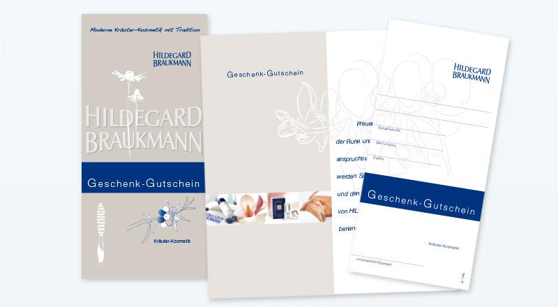 HILDEGARD BRAUKMANN Geschenk Gutscheine